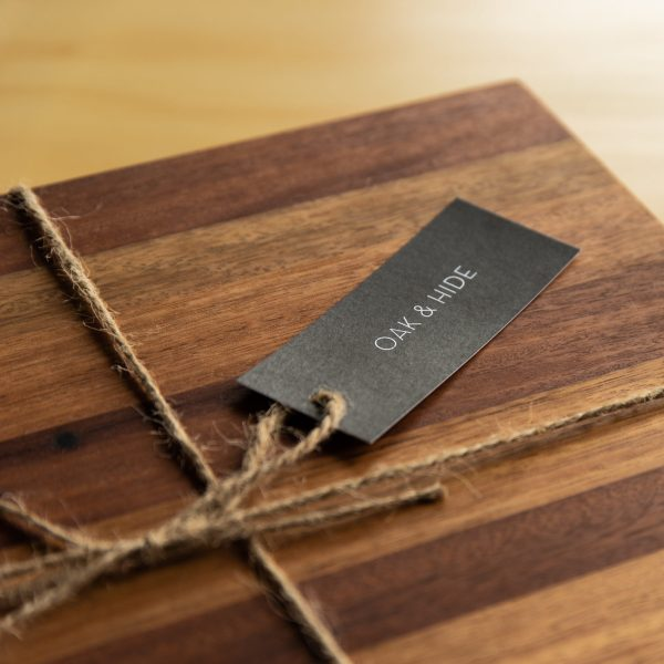 Oak & Hide Sustainable Recycled Timber Chopping Board