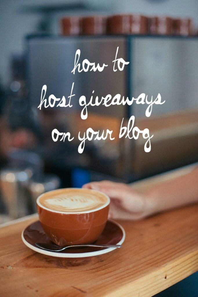 How to host giveaways on your blog! Are you wondering how other bloggers host giveaways? Are you wanting to partner with brands and give back to your readers? This post is for you! Blog Tips