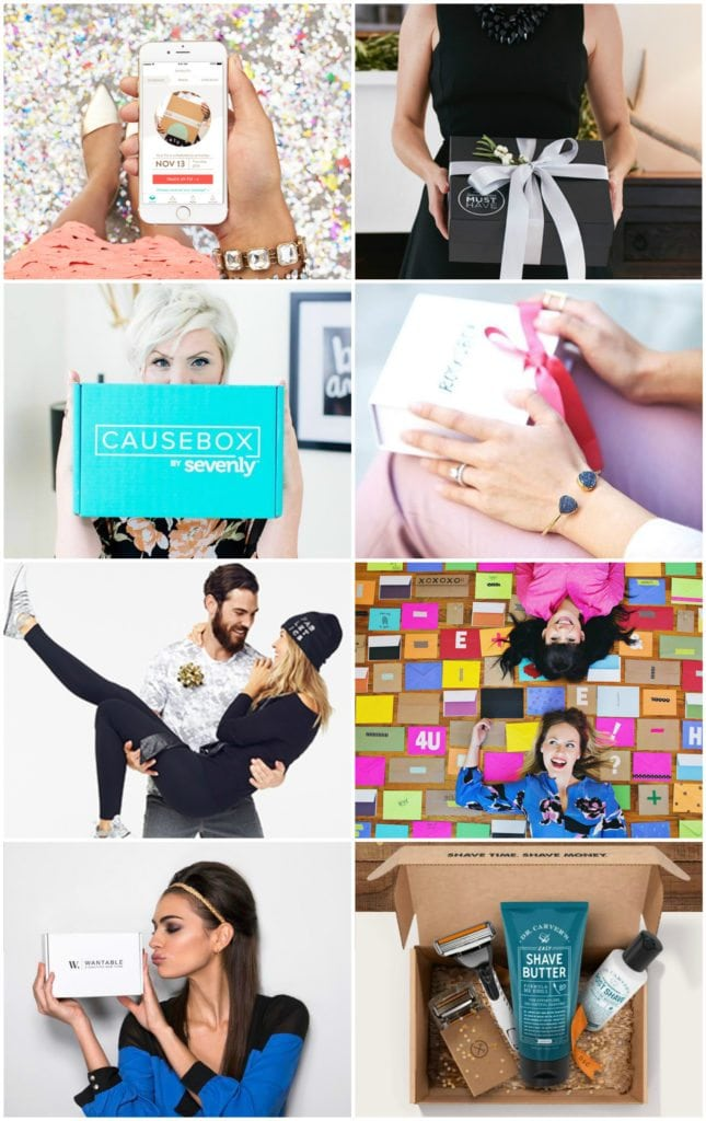 subscription box gift guide 2015 - the best subscription boxes to give this year!