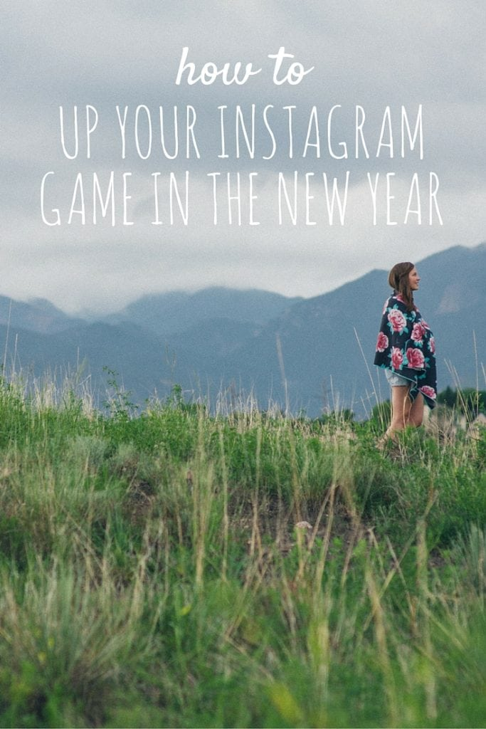 Up Your Instagram game in the New Year!! Love these five easy tips!