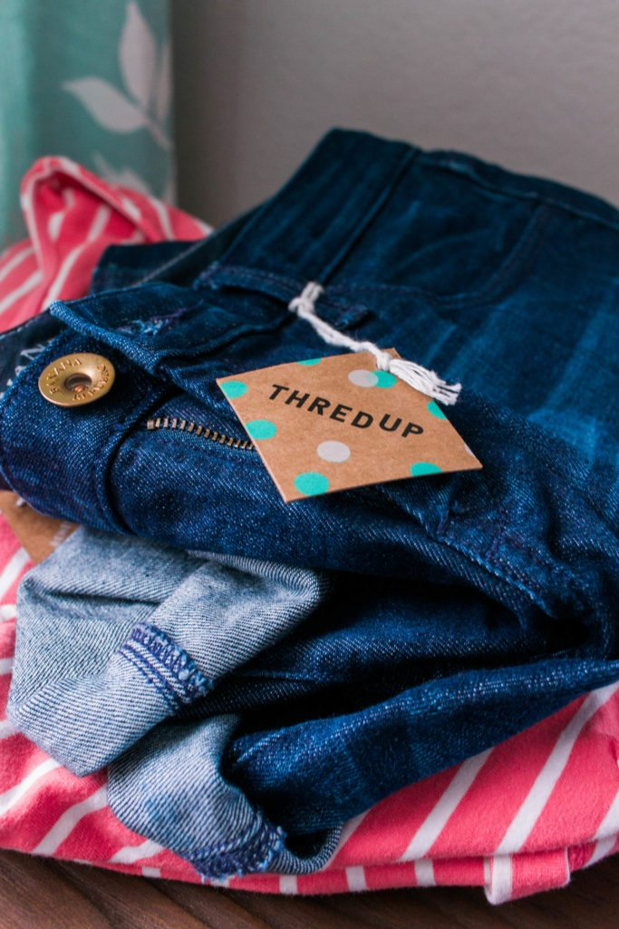 have you checked out thredUP yet? The best place to sell back clothes and buy like-new clothes for your closet at huge discounts!