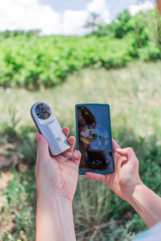 Behind the Scenes with Oak + Oats and the LG 360 from Verizon