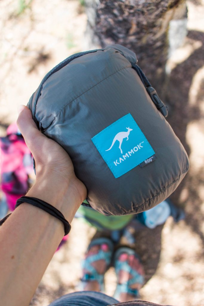 Camp Life with a Patagonia for the chilly night, FLYJOY bars for snacking & a Roo Kammok.
