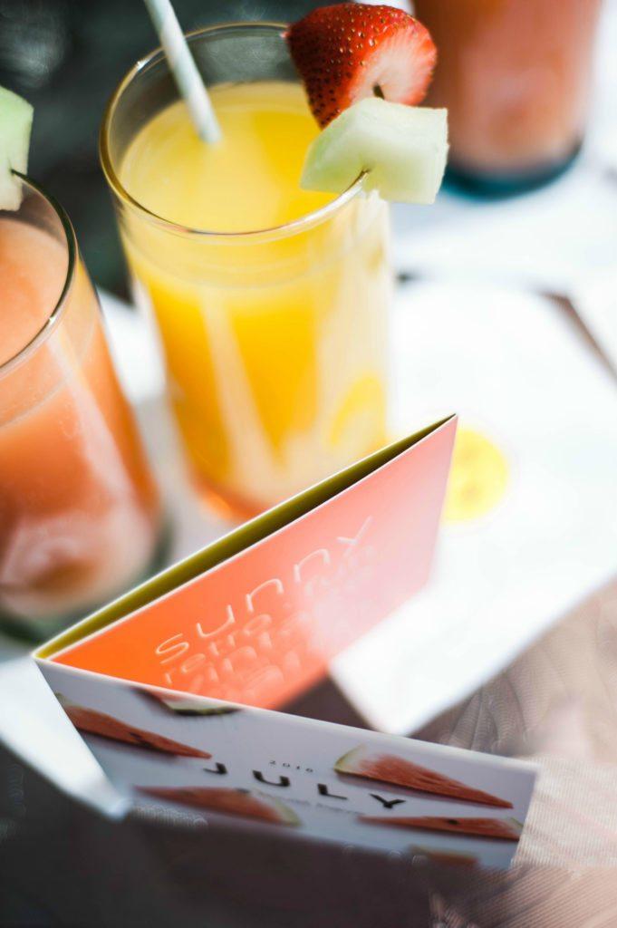 Grapefruit Summertime Mimosas & Original Mimosas Recipe