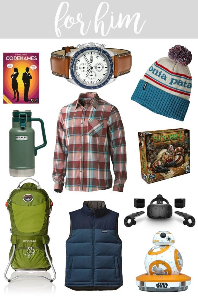 2016 Gift Guide for Him