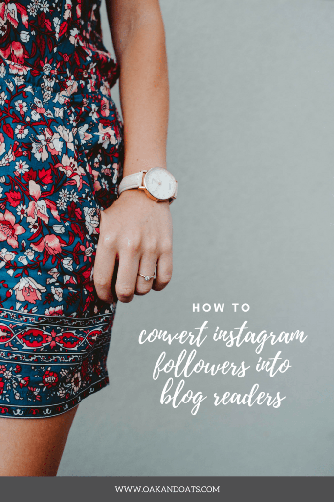 How to Convert Instagram Followers into Blog Readers with Elizabeth Mayberry of Oak + Oats