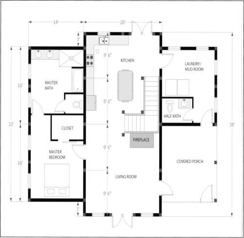 Truman Timber Frame Home Kit