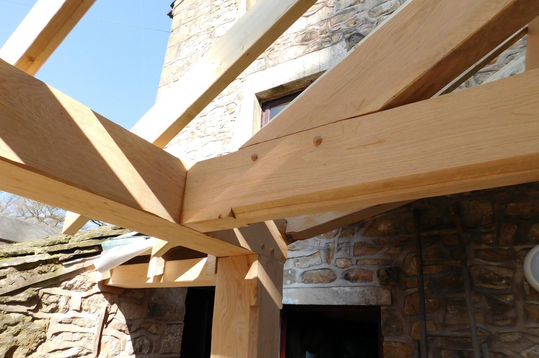 modern kitchens pictures custom kitchen cabinets online extension, oak frame construction, slate roof, house ...