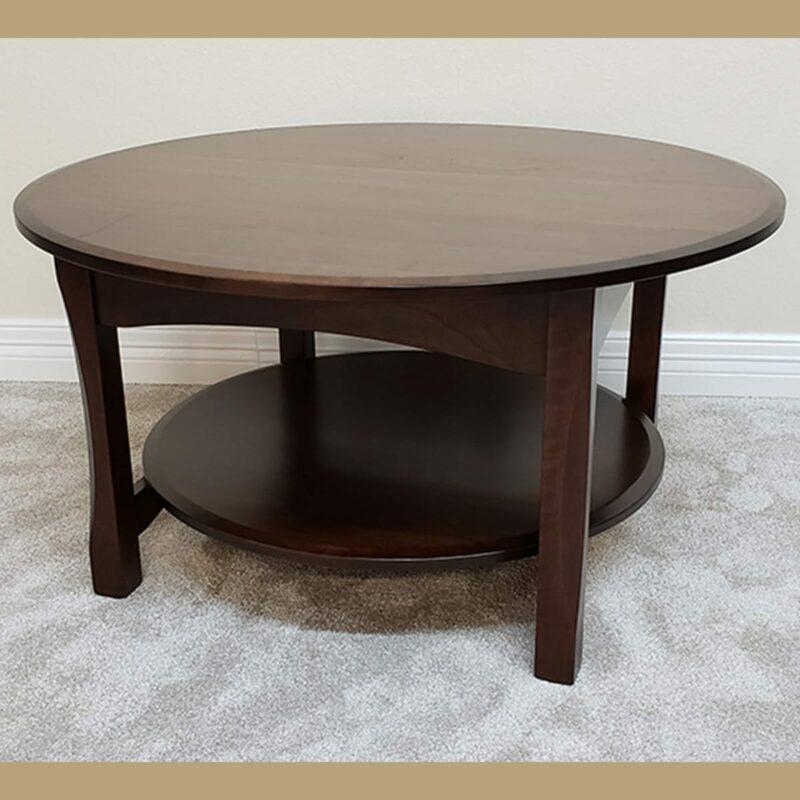 36 bennett cherry coffee table