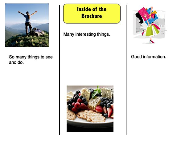 Travel Brochure Examples For Kids Ideal Vistalist Co