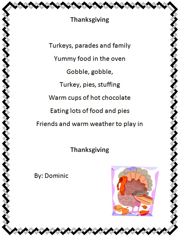 K Lesson Plans Word Holiday Poem Generator