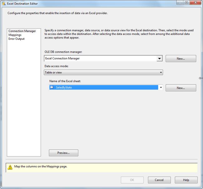 Excel Select Worksheet