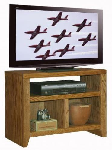 City Loft 32 TV Stand Oak Factory Outlet Furniture Store