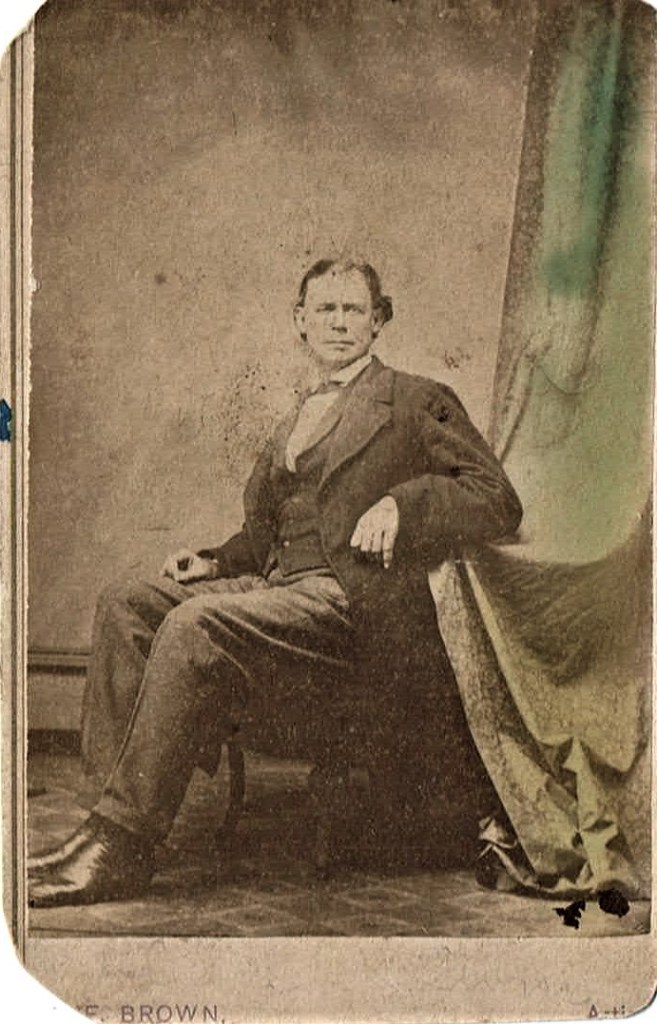 Photograph- either John Louis Laramore or Peter Larmore- not James H. Laramore, Sr.