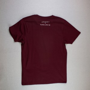 STICK TO YOUR GANS - TSHIRT - BURGUNDY