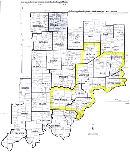 Map of OHC 10 Counties