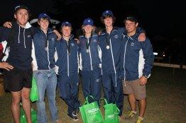 Oakhill u19-1 Mr. Langman, Nic, Brandon, Nicola, Harry, Mr. van Straten