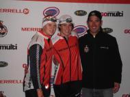 Nina and Mikayla and sponsor