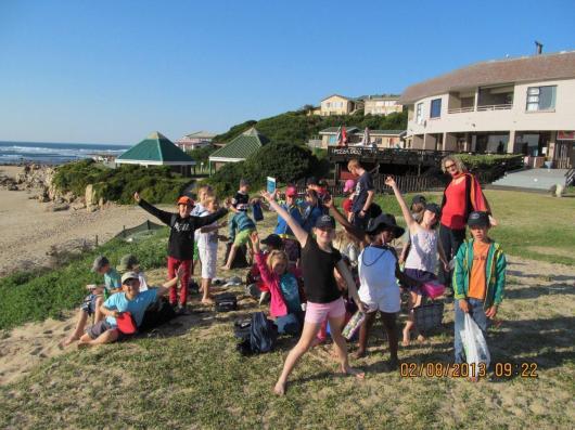 Grade 3 Beach Outing
