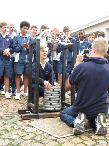 2015_ Oakhill SRC President, Nic Reid testing his teams bridge (Copy)