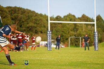 Rugby vs Percy Mdala