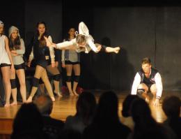 Stationary Dance Show