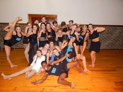 Rhapsody Dance Company and competiting dancers from Oakhill School