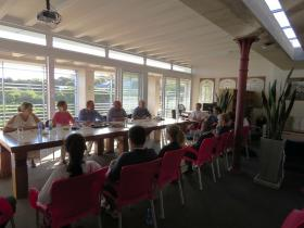 4. Scholarship interviews with Oakhill Staff and Headmaster, Shane Kidwell