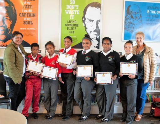 Phendulani Quiz at Oakhill School (1)