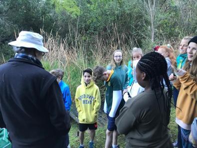 Grade 6 to Pledge Park appreciating regrowth (6)
