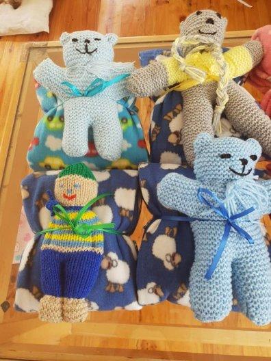 Knitted Teddy Bears 2019 (4)
