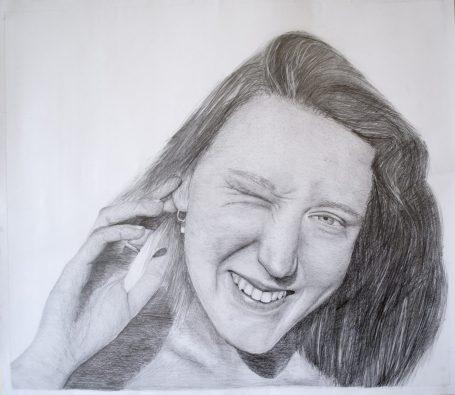 Gr 10 self portraits (1)