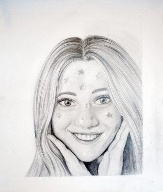 Gr 10 self portraits (2)