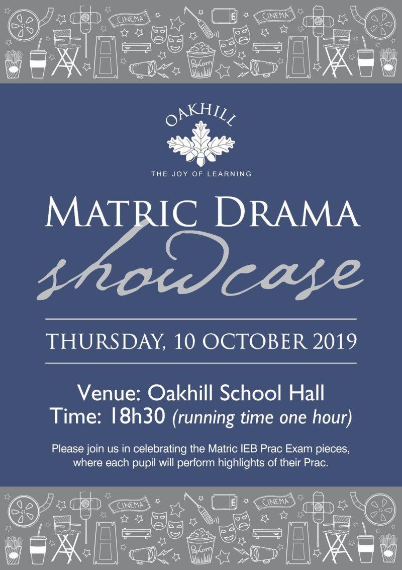 Matric Drama Showcase