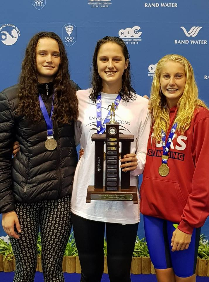 Aimee Canny takes Gold in the 200m Free at Junior Nationals
