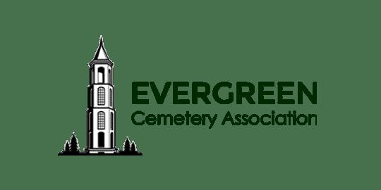logo for Evergreen Cemetery Association