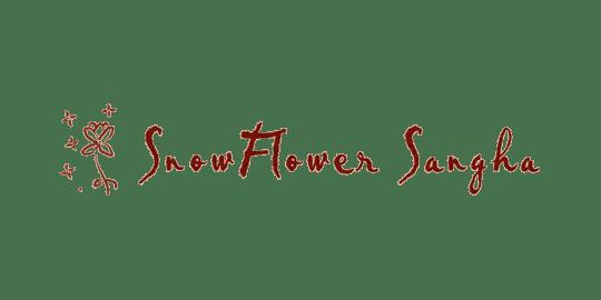 logo for SnowFlower Sangha