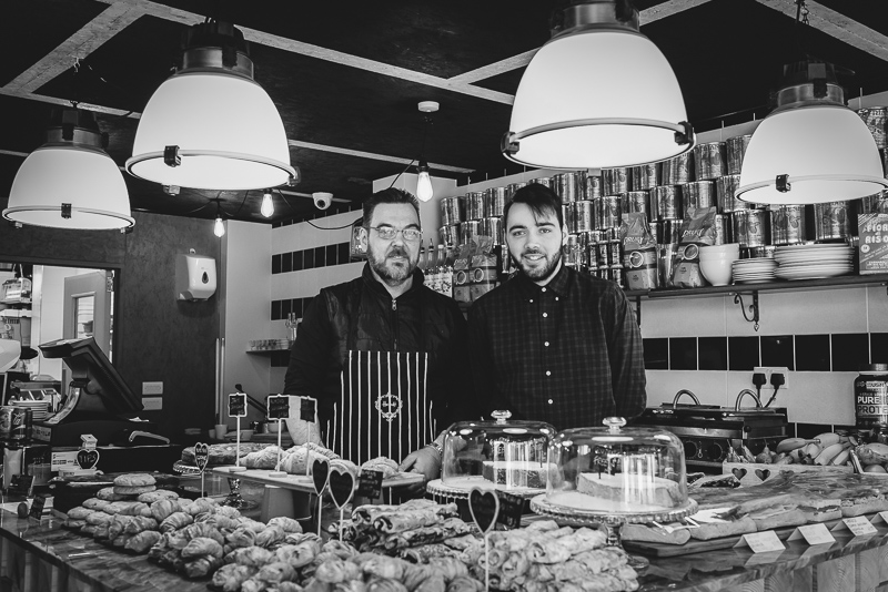 Stefano & Andrea of Cuore Food From The Earth | Bexley Portrait Photographers | Oakhouse Photography