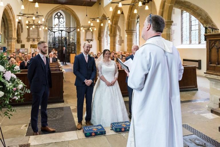 Wedding ceremony at Wadhurst Church, Wadhurst, East Sussex | Oakhouse Photography