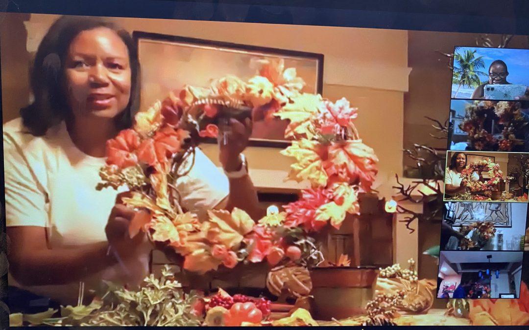 OBAL Arts Facet Wreath Making Workshop with Elizabeth House