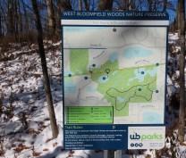 trail side map