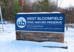 west bloomfield roadside sign