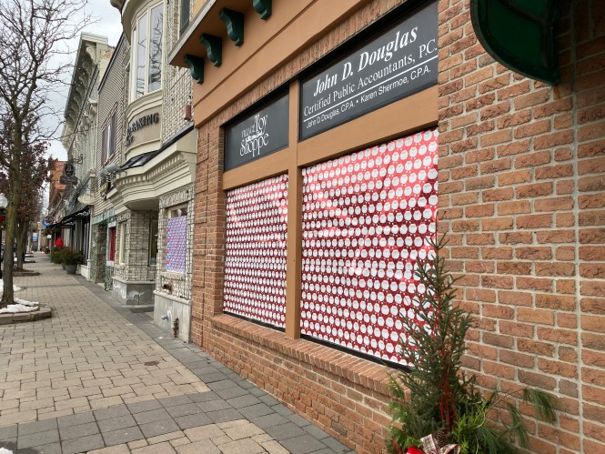 Wrapped Storefront