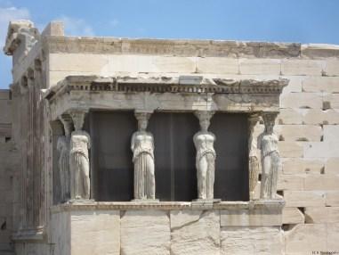 Caryatides Acropolis Athens