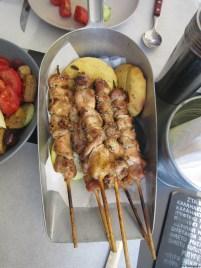 Souvliki - Chicken Skewers
