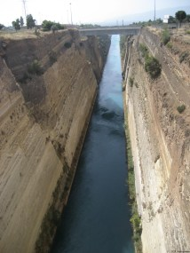 Canal Isthmus of Corinth