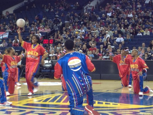 Harlem Globetrotters - Oracle Arena