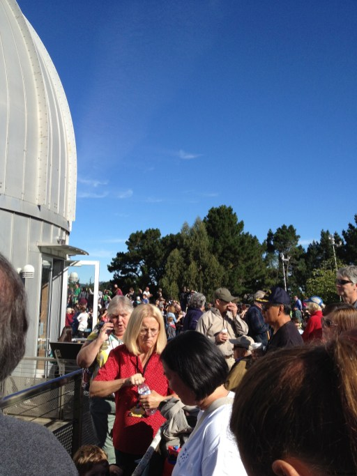 Chabot Space and Science Center - Waiting for the Shuttle