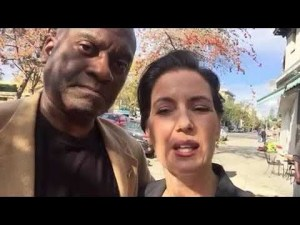 The Author with Mayor Schaaf