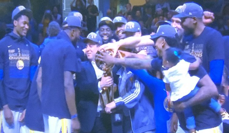 2018 Golden State Warriors NBA Champions